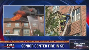 4 hospitalized after fire at Southeast DC senior housing apartment building