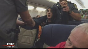 Woman dragged off Southwest Airlines flight facing disorderly conduct and resisting arrest charges