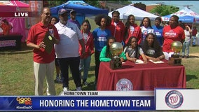 Anacostia | Zip Trip: Washington Nationals Hometown Team Anacostia High School Girls' Basketball