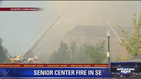 Senior center fire in Southeast DC