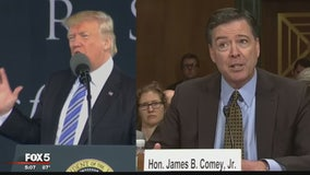 No tapes: Trump says he didn't record meetings with Comey