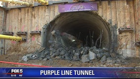 Purple Line reaches milestone with semi-completion of tunnel