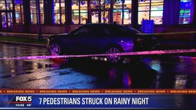Pedestrians struck on rainy night in Maryland