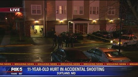 11-year-old boy accidentally shot by neighbor in Suitland, police say