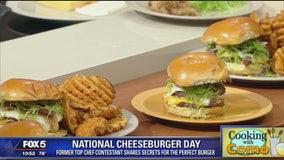 National Cheeseburger Day -- Cooking with Como