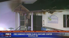 Fire breaks out at Montgomery County pool and day care center
