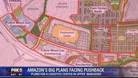 Proposed Amazon logistics center facing pushback