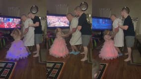 Granddaughter-grandfather dance to 'Beauty and the Beast' in viral video