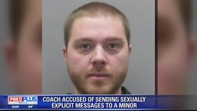 Sports coach arrested for sending sexually explicit messages to minor