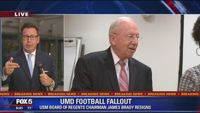 Maryland board of regents chairman resigns amid football scandal