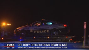Prince George's County officer hurt after cruiser struck amid death probe