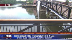 Woman tried to drown daughter at RIO Lakefront, police say