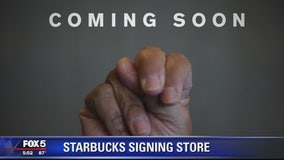 Starbucks to open 1st US signing store on H Street in DC