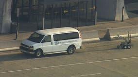 Bomb squad investigate suspicious vehicle at Dulles International Airport