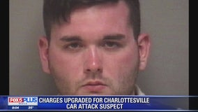 Suspect in Charlottesville car attack faces new 1st-degree murder charge