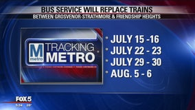 Red Line closures to be July 15 as Metro tests new waterproofing system