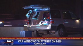 Car windows shattered on I-270 believed to be caused by BB gun