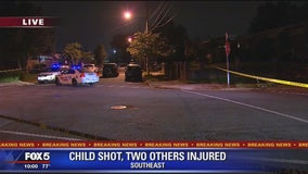 3 injured after shooting in Southeast DC