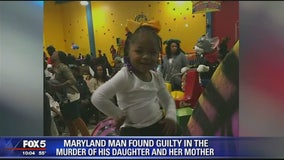 Prince George's County man found guilty of killing teacher, their 2-year-old daughter