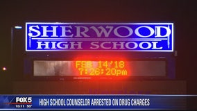 Montgomery County high school guidance counselor facing marijuana charge