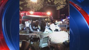 Several injured after serious two-vehicle crash in Rockville