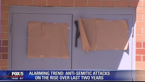 Anti-Semitic incidents on the rise since 2016