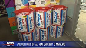 Limited edition 77-pack of Natural Light flying off store shelves in College Park