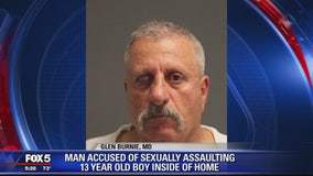 Glen Burnie man sexually assaults 13-year-old boy, police say