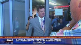Gates, star witness against Manafort, concludes testimony