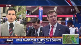 Former Trump campaign chairman Paul Manafort found guilty of 8 charges