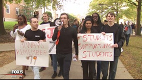Justice for Jordan rally held at the University of Maryland