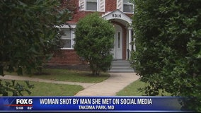 Woman shot by man after meeting him through social media app, police say