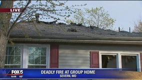 Three people killed in Anne Arundel County group home fire