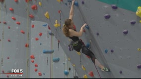 Northern Virginia hopes to make 2020 Olympic Games in new sport -- climbing