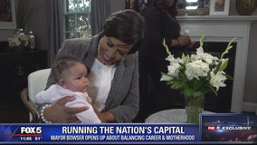 Muriel Bowser opens up about balancing her duties as DC's mayor and motherhood