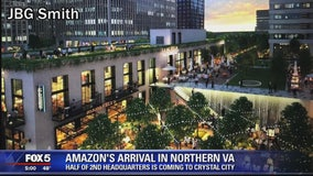 Amazon's 2nd headquarters coming to Northern Virginia, NYC