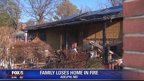 Maryland family devastated by house fire just days before Christmas