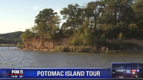 Want to buy your own private island on the Potomac River? If you have $15 million, it could be yours