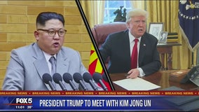 Trump says he'll meet with North Korean leader Kim Jong Un