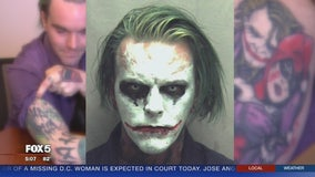 Man arrested for dressing up as 'The Joker' in public says he's not dangerous, dressed up for fun