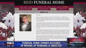 Funeral home owner indicted after being accused of forging death certificates, mixing up human remains
