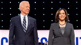 Biden asks Harris to 'go easy on me, kid'