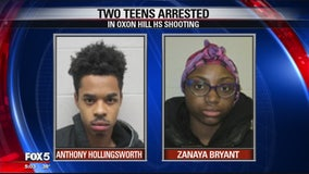 2 teens charged with attempted murder after shooting of Oxon Hill High School student