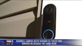Doorbell camera helps Howard County police find driver in deadly hit-and-run