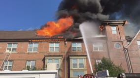 2-alarm fire at Southeast DC apartment building