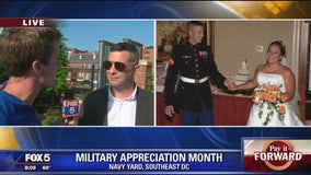 Pay It Forward during Military Appreciation Month
