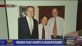 Falls Church Chinese restaurant owner remembers favorite customer -- George H.W. Bush