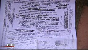 Anti-Semitic flyers being left in DC neighborhoods
