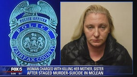West Virginia woman charged with murdering mother, sister in McLean home, Fairfax County police say