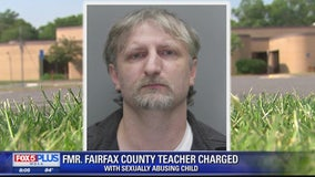 Former Fairfax County teacher charged with taking indecent liberties with a child